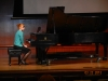 One of the many talented pianists who paritiicipated in District III-C Festival at Cedarville University.